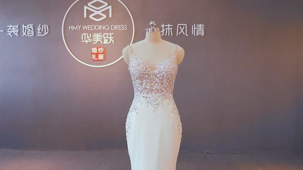 Mermaid Wedding Dress Video Show ZZbridal