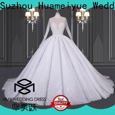 HMY High-quality the wedding gown factory for wholesalers
