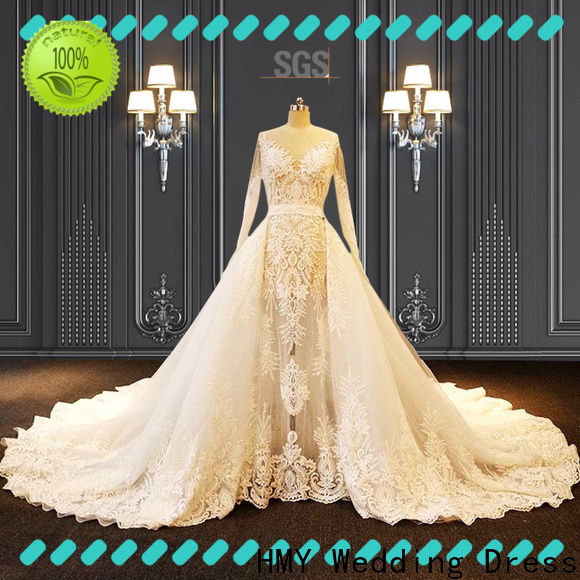 HMY High-quality wedding dress rental for business for wedding dress stores