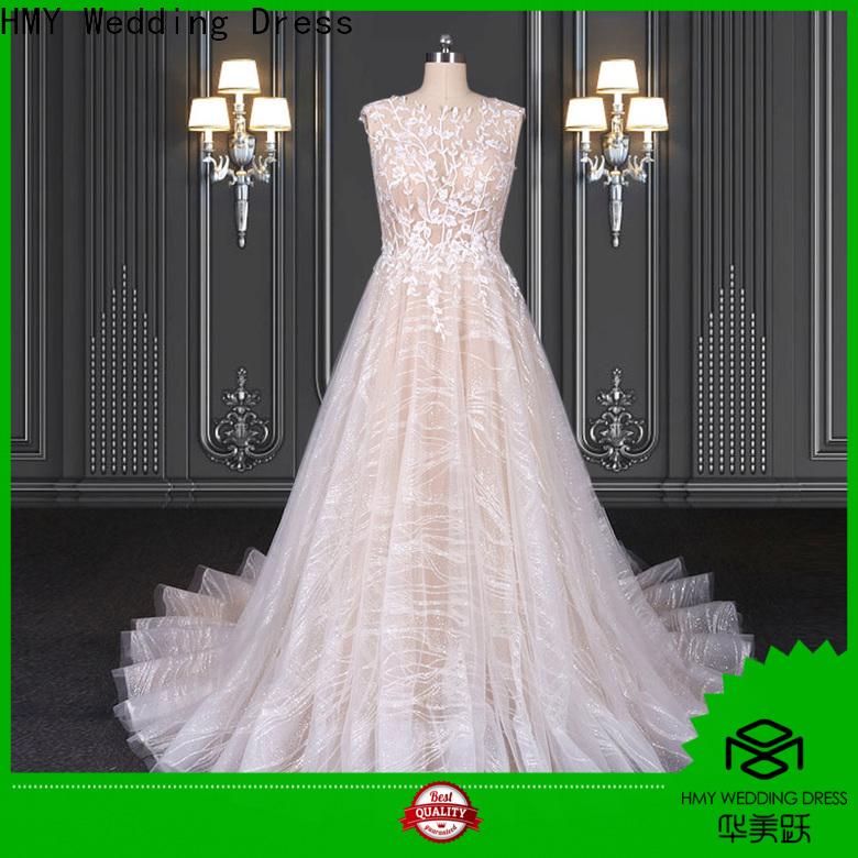 HMY antique wedding dresses Supply for brides