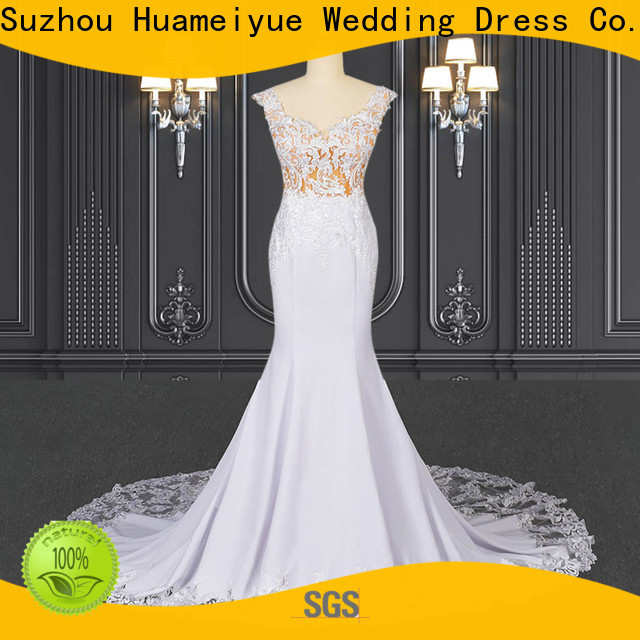 HMY bridal wedding dresses online shopping factory for wedding party
