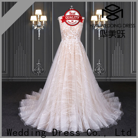 HMY antique wedding dresses factory for wedding party