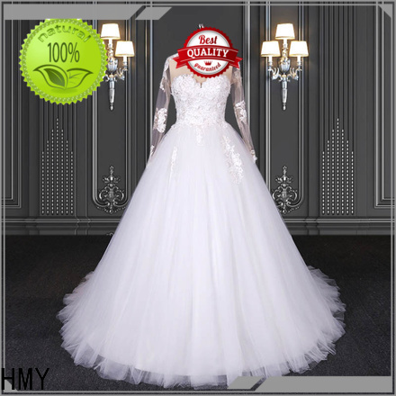 HMY Wholesale second marriage wedding dresses manufacturers for boutiques