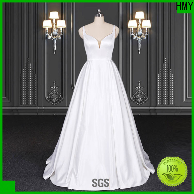 Latest backless wedding dresses Suppliers for brides