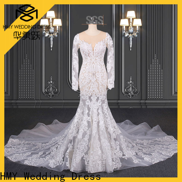 HMY buy bridal gown factory for wholesalers