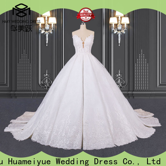 HMY wholesale wedding dresses for business for wholesalers