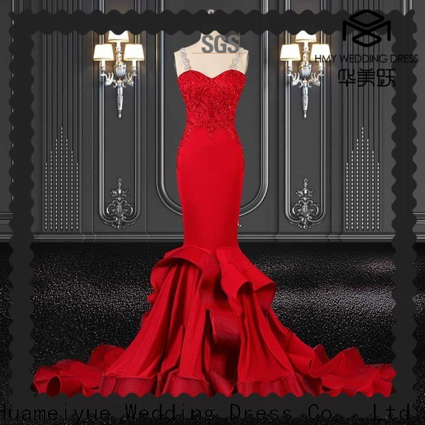 HMY short evening dresses manufacturers for party