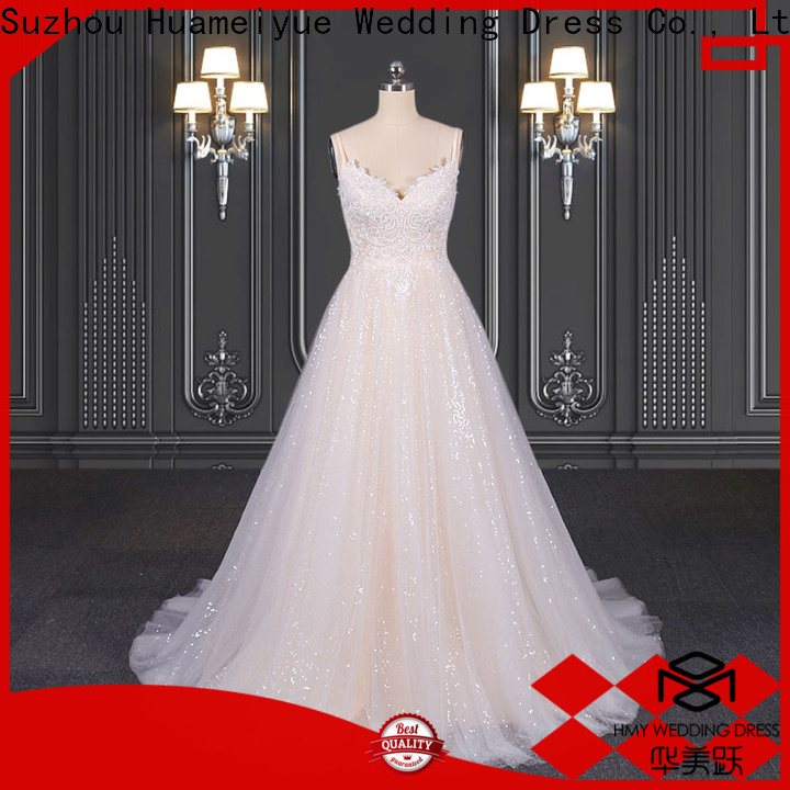 HMY traditional wedding dresses factory for wedding party