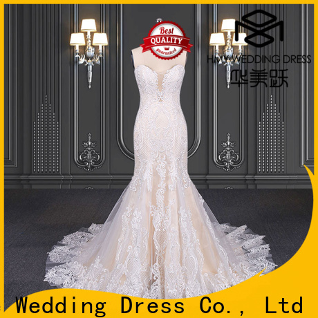 HMY Wholesale black and white wedding dresses Suppliers for boutiques