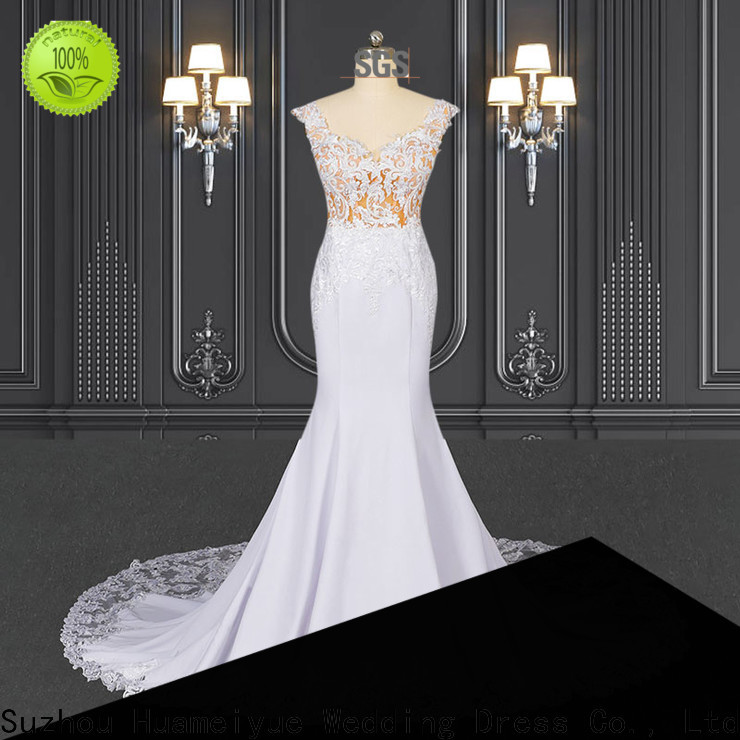 HMY Custom couture dresses for business for wedding party