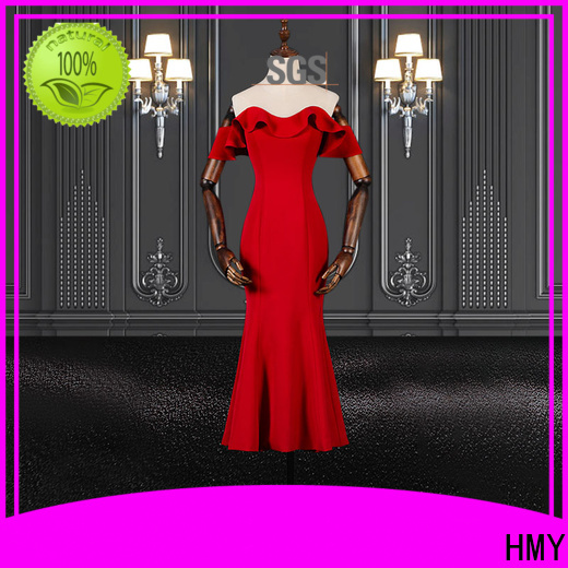 HMY cool evening gowns manufacturers for ladies