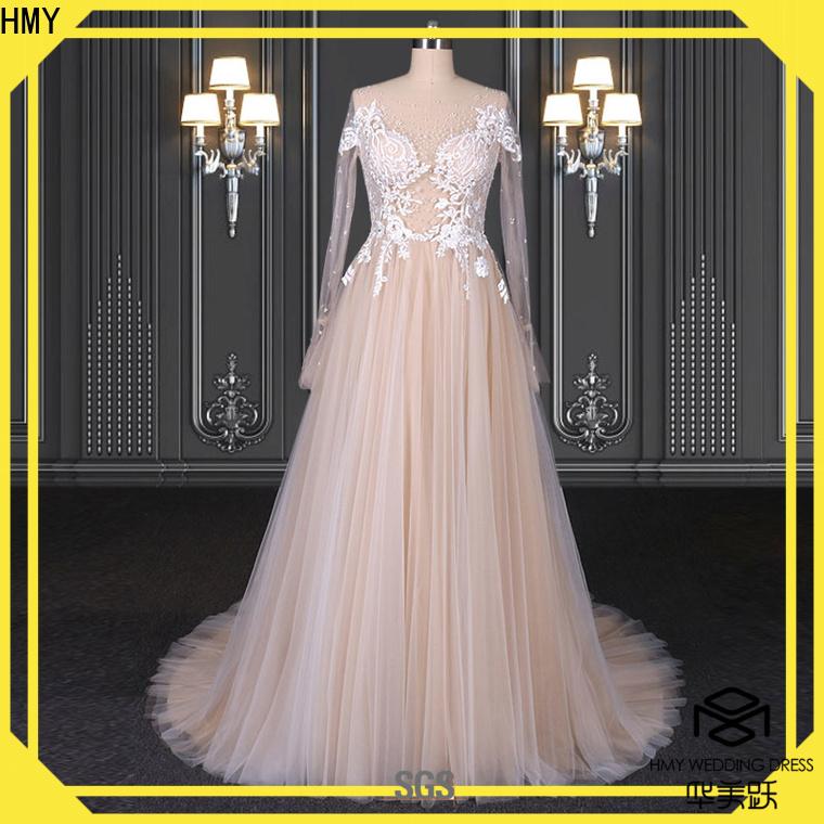 HMY wedding gaun dress factory for wedding dress stores