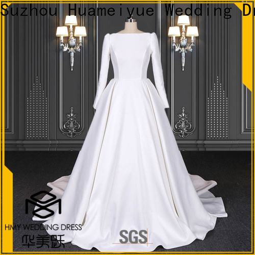 HMY beach wedding dresses for business for wedding party