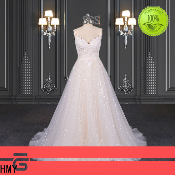 HMY Top bridal gowns for sale factory for wedding party