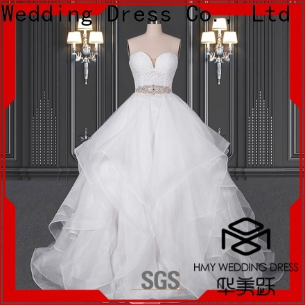 HMY Wholesale custom wedding gowns company for wholesalers