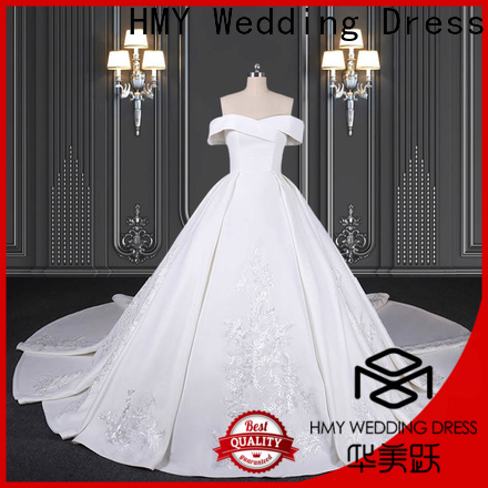 HMY more wedding dresses factory for brides