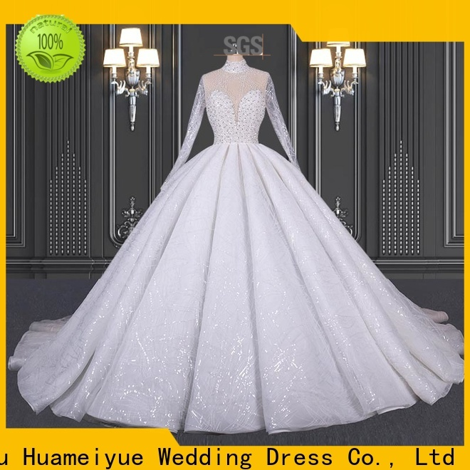 HMY New halter wedding dress company for boutiques