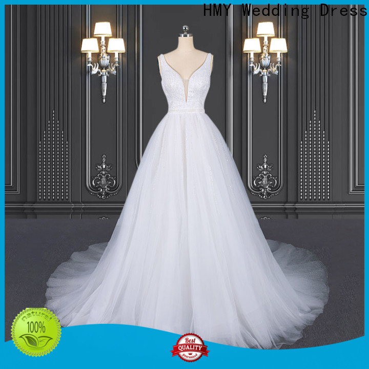 HMY irish wedding dresses factory for wholesalers