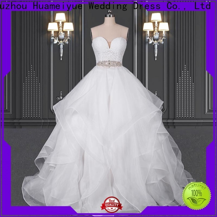 HMY long sleeve wedding dresses company for wedding dress stores