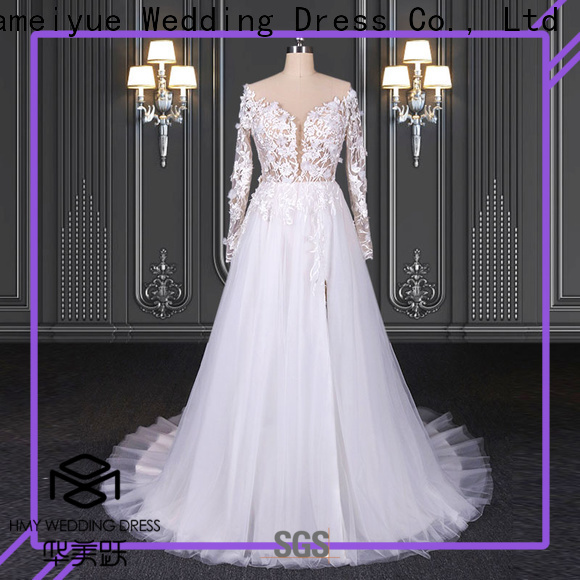 HMY cheap beautiful wedding dresses for business for wedding party