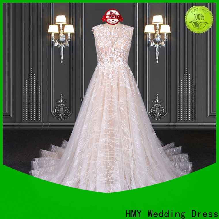HMY High-quality budget wedding dresses Suppliers for wedding party