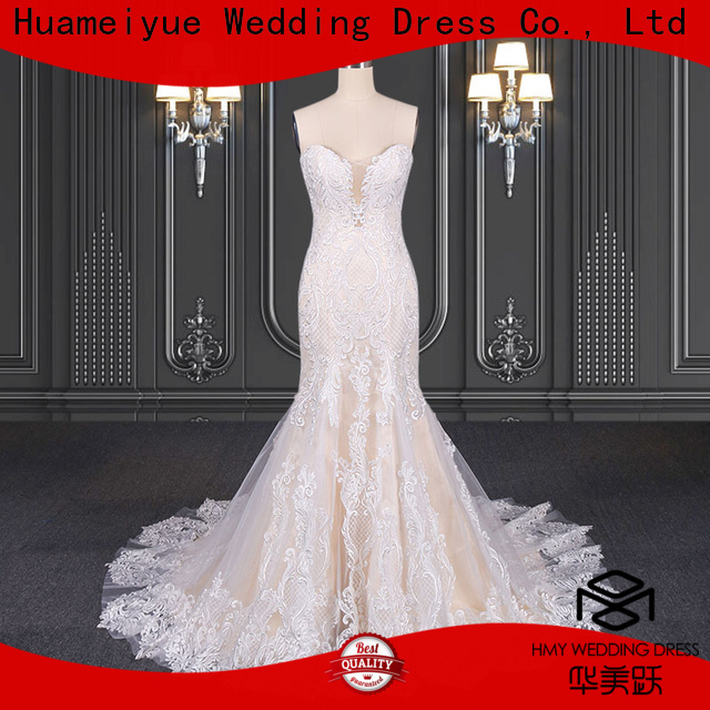 HMY Best mori lee wedding dress Suppliers for wedding party
