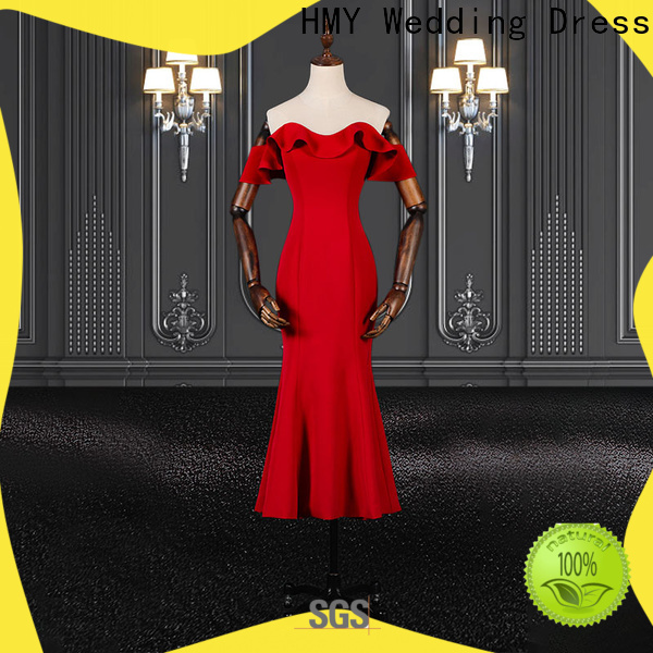 HMY blue evening gown manufacturers for party