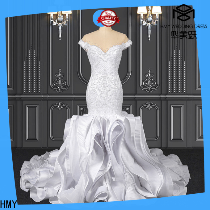 HMY wedding wear gown factory for brides