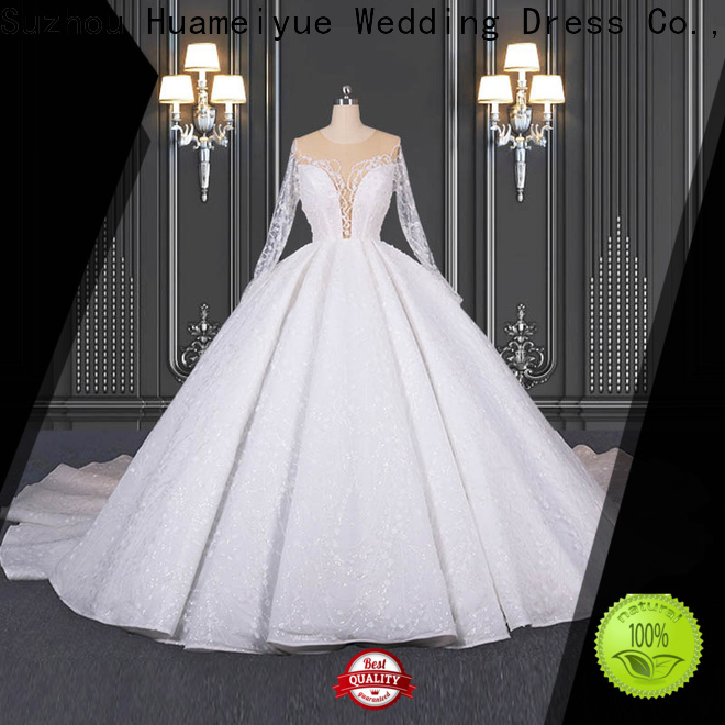 HMY winter wedding dresses manufacturers for wholesalers