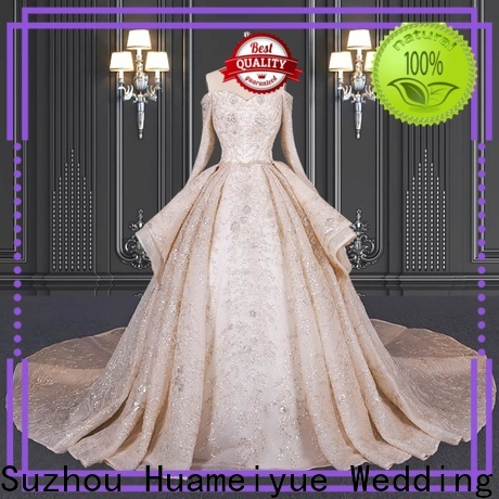 HMY boho wedding dress for plus size for business for wholesalers