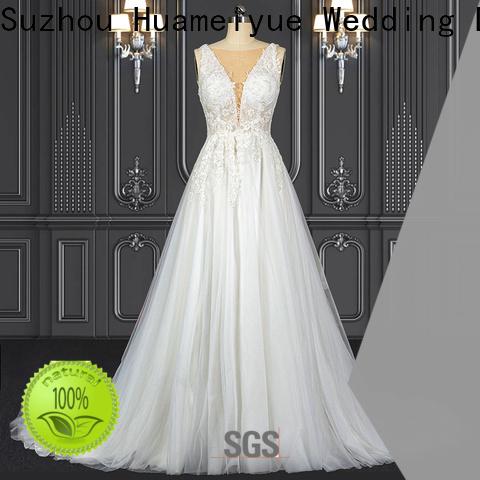 Best sleeveless boho wedding dress Supply for wedding dress stores
