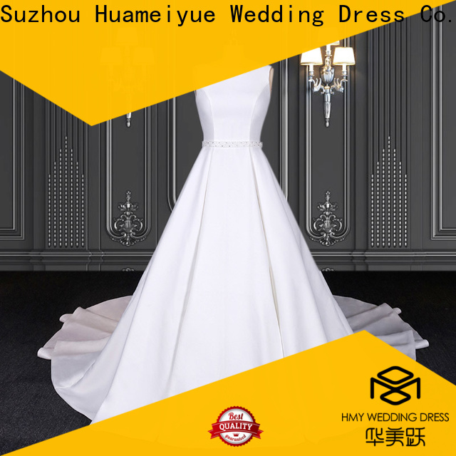 HMY Best off white bohemian wedding dress Supply for wholesalers