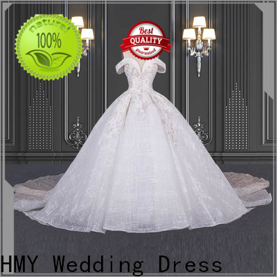 HMY beautiful bohemian wedding dresses for business for brides