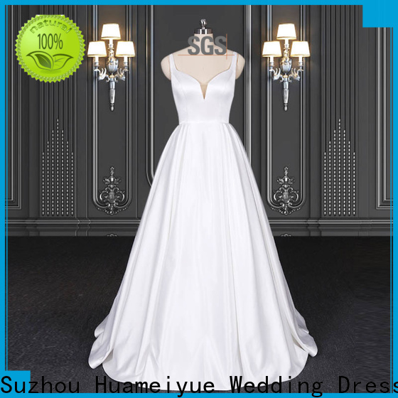 HMY boho wedding plus size dress manufacturers for wholesalers